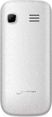 Мобильный телефон Micromax X352 (белый) - вид сзади