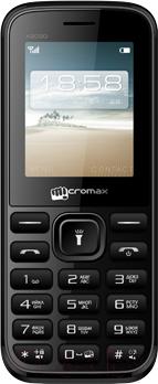Мобильный телефон Micromax X2050 (черный) - общий вид