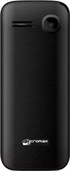 Мобильный телефон Micromax X2050 (черный) - вид сзади