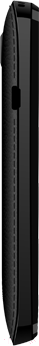 Мобильный телефон Micromax X2050 (черный) - вид сбоку