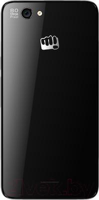 Смартфон Micromax A290 (черно-золотой) - вид сзади