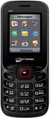 Мобильный телефон Micromax X088 (черно-красный)
