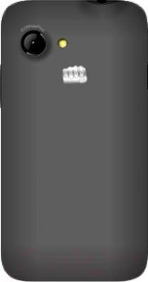 Смартфон Micromax A79 (черный) - вид сзади