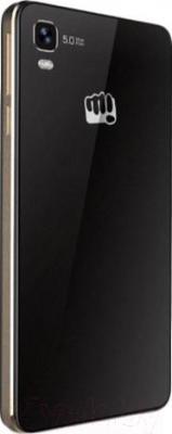 Смартфон Micromax Canvas Fire A093 (черно-золотой)