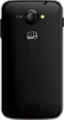 Смартфон Micromax Canvas Unite A092 (черный) - вид сзади