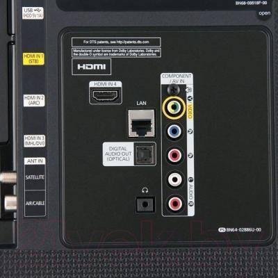 Телевизор Samsung UE40J6330AU - входы/выходы
