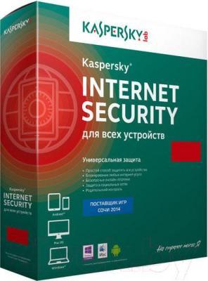 Антивирусное ПО Kaspersky Internet Security 2015 (на 2 устройства) - общий вид