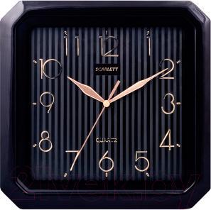 Настенные часы Scarlett SC-52CB - общий вид