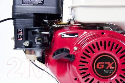 Двигатель бензиновый ZigZag GX 200 (168F/P-2-D1) - ручной стартер
