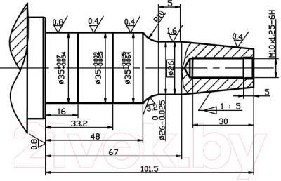 Двигатель бензиновый ZigZag GX 390 (188F/P-D1) - конусный коленвал