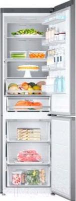 Холодильник с морозильником Samsung RB38J7861SR/WT - внутренний вид