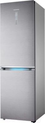 Холодильник с морозильником Samsung RB38J7861SR/WT