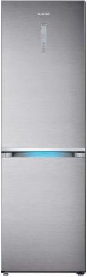 Холодильник с морозильником Samsung RB38J7861SR/WT - вид спереди