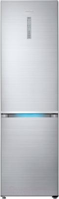 Холодильник с морозильником Samsung RB41J7851S4/WT - вид спереди