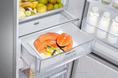 Холодильник с морозильником Samsung RB41J7851S4/WT - зона свежести