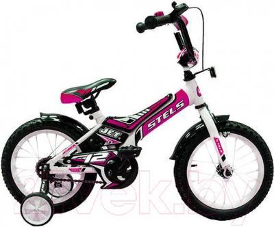 Детский велосипед Stels Jet 12 (розовый) - общий вид