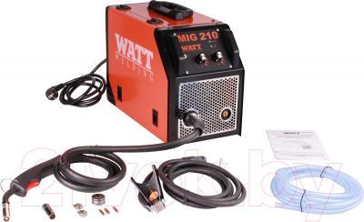 Инвертор сварочный Watt MIG-210 - комплектация