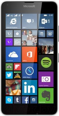 Смартфон Microsoft Lumia 640 XL Dual (белый) - общий вид