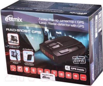 Радар-детектор Ritmix RAD-510ST GPS - упаковка