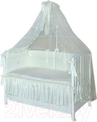 Комплект в кроватку Perina Амели АМ4-01.2 - балдахин в комплект не входит