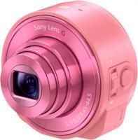 Фотоаппарат Sony DSC-QX10 (розовый) -