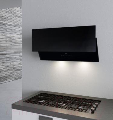 Вытяжка декоративная Best Flap 55 (черное стекло) - в интерьере