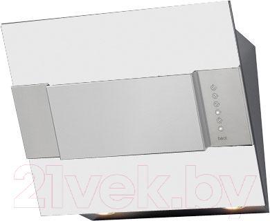 Вытяжка декоративная Best Iris FPX 55 (белый металл) - общий вид