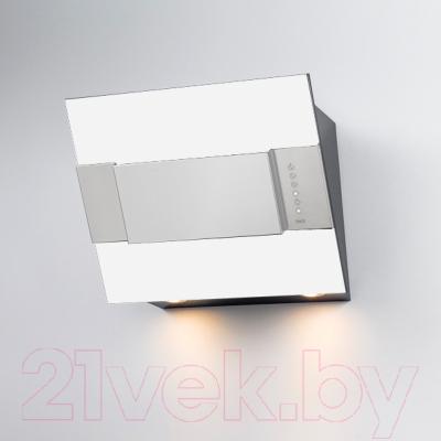 Вытяжка декоративная Best Iris FPX 55 (белый металл)