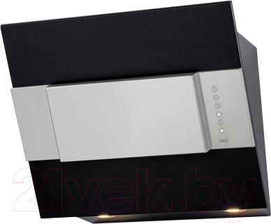 Вытяжка декоративная Best Iris FPX 55 (черный металл) - общий вид