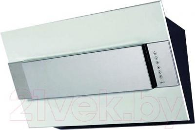 Вытяжка декоративная Best Iris FPX 80 (белый металл) - общий вид