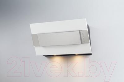 Вытяжка декоративная Best Iris FPX 80 (белый металл)