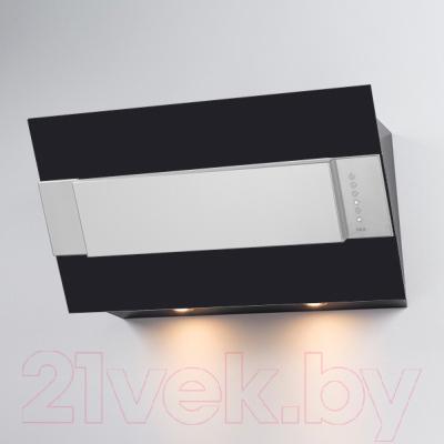 Вытяжка декоративная Best Iris FPX 80 (черный металл)
