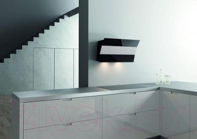 Вытяжка декоративная Best Plana 80 (черное стекло) - в интерьере