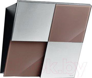 Вытяжка декоративная Best Keys 55 (сталь + стекло какао) - общий вид