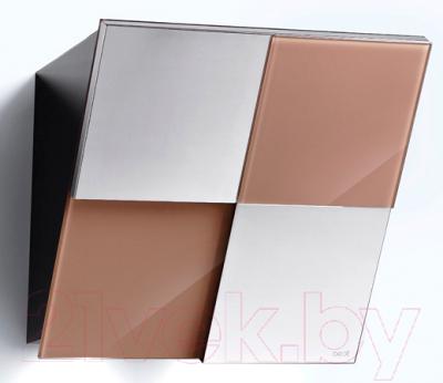 Вытяжка декоративная Best Keys 55 (сталь + стекло какао)