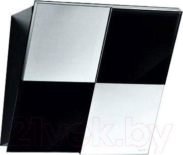 Вытяжка декоративная Best Keys 55 (сталь + черное стекло) - общий вид