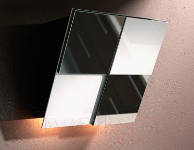 Вытяжка декоративная Best Keys 55 (сталь + черное стекло)