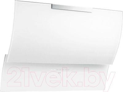 Вытяжка декоративная Best Fluttua 80 (белое стекло) - общий вид