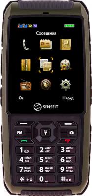 Мобильный телефон Senseit P101 (зеленый) - общий вид