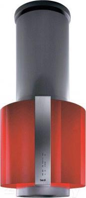 Вытяжка коробчатая Best Salina 50 (нержавеющая сталь - красный) - общий вид