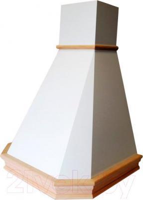 Вытяжка купольная Best Camilla 60 650м3/ч (белый) - общий вид