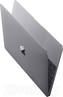 Ноутбук Apple MacBook (MJY32RS/A) - вполоборота