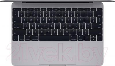 Ноутбук Apple MacBook (MJY42RS/A) - вид сверху