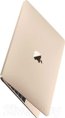 Ноутбук Apple MacBook (MK4N2RS/A) - вполоборота