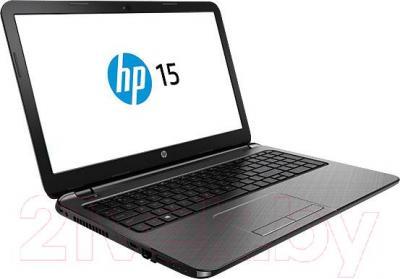 Ноутбук HP 15-r256ur (L1T30EA) - вполоборота