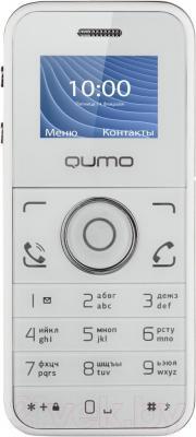 Мобильный телефон Qumo Push Mini (белый) - общий вид