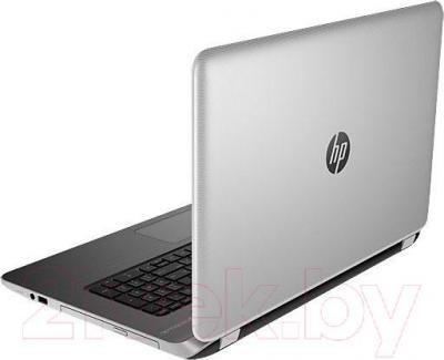 Ноутбук HP Pavilion 17-f209ur (L1T94EA) - вид сзади