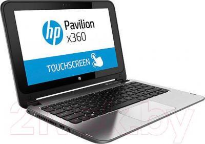 Ноутбук HP Pavilion x360 11-n060ur (L1S01EA) - вполоборота