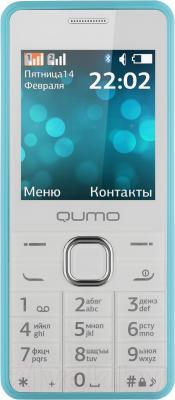 Мобильный телефон Qumo Push 242 Dual  (синий) - общий вид
