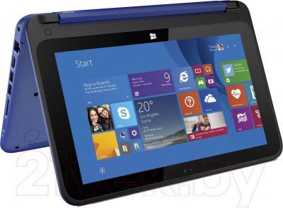Ноутбук HP Stream x360 11-p055ur (L1S04EA) - вполоборота
